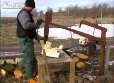 Ukrajinska sekira za drva. Noro!