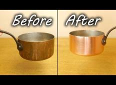 Kako očistiti bakreno posodo?