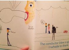 Nedolžne risbe otrok, ob katerih se odrasli lahko počutijo neprijetno