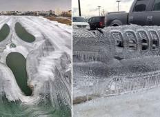 To se zgodi, ko je zunaj resnično mrzlo